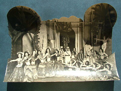"Vtg.. Original Art Deco Franchon & Marco Theater "" Morrocan Girls"" Photograph"
