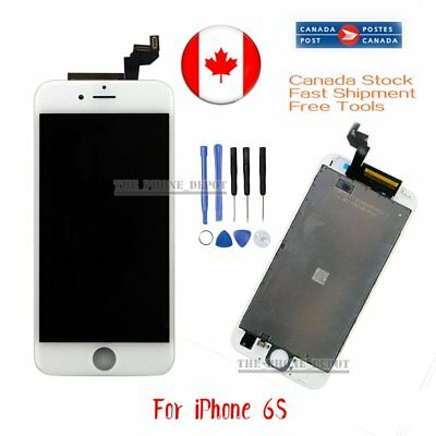 "For White iPhone 6S 4.7"" LCD Touch Display Assembly Digitizer Screen Replacement"