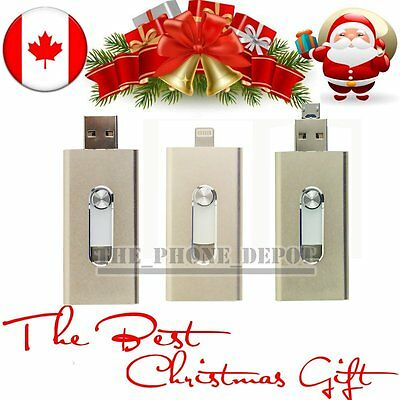 Christmas Gift 32GB 3 IN 1 USB i-Flash Drive OTG Memory Stick for IOS/PC/Android