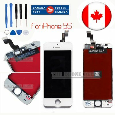 Replacement LCD Touch Screen & Digitizer Display For iPhone 5S SE  White CANADA