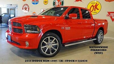 2015 Ram 1500 Sport 4X2 HEMI,NAV,BACK-UP,HTD CLOTH,CHROME 22'S,1 15 RAM 1500 SPORT 4X2,HEMI,NAV,BACK-UP CAM,HTD CLOTH,CHROME 22'S,1K,WE FINANCE!!
