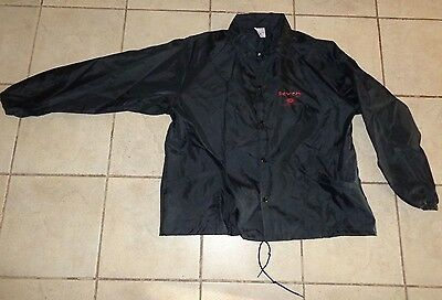 1996 Seven Se7en the movie windbreaker jacket RARE! L@@K! Pitt Freeman