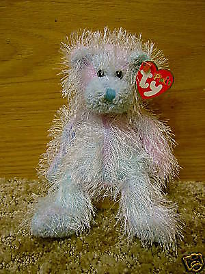 "Ty Inc. 2002 Punkies Bear ""twizzles"" Nwt So Cute"
