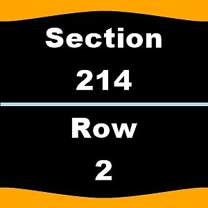 2 Tickets Lady Gaga 8/3 Rogers Place Section 214 Row 2