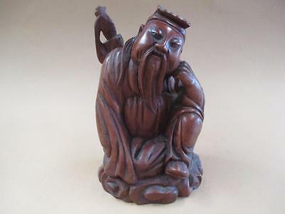 Carved boxwood figurine, Asian, antique