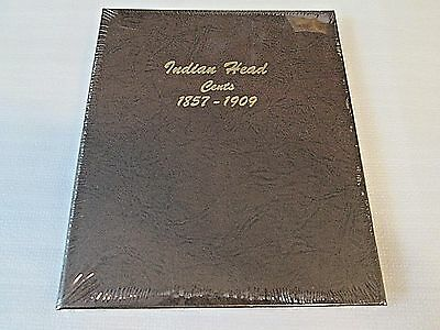 New DANSCO 7101 COIN ALBUM FOR Indian Head Cents 1857-1909 Coins