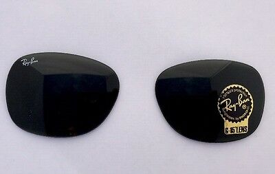 Genuine Rayban RB 2132 G15 Replacement Lenses 55mm Eye size