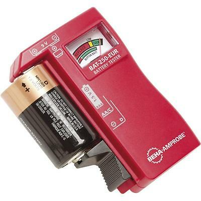 Hand Held  Amprobe Battery Tester Checker- Tests Aaa, Aa, C, D, 9V & Coin Cells