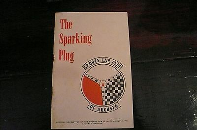 THE SPARKING PLUG Newsletter Sports Car Club of America SCCA