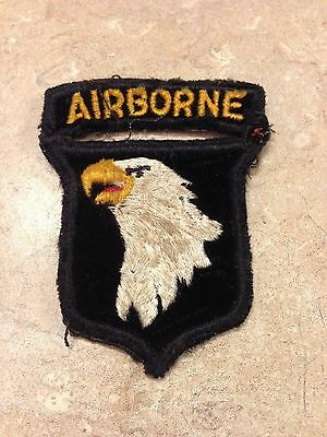 Type 8 US Army 101st Airborne Division Patch HTF