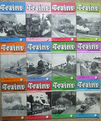 Trains Illustrated: Ian Allan Railway Magazine: Complete Year 1958