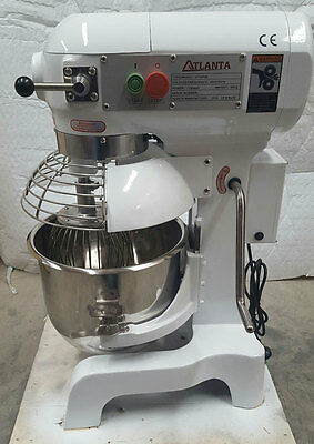 Commercial 10 Lt Planetary Gear Driven Dough Mixer 3 Speed Catering Equipment
