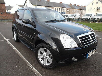 2010 Ssangyong Rexton 2.7 Td Spr T-Tronic Auto  Heated And Elec. Leather Seats