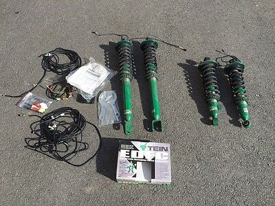Tein Super Street Coilovers and EDFC - Nissan Skyline R33 and R34 GTR
