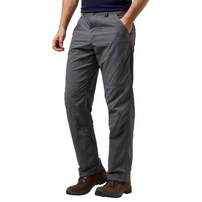 Craghoppers Mens Nosi Trousers Outdoor Clothing Grey