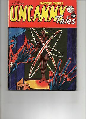 Uncanny Tales 182 Fine Alan Class Uk Comic