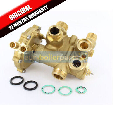 Halstead Finest & Finest Gold Diverter Valve & Water Valve 500601 Brand New