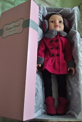 Design A Friend Doll Victoria plus 2 Outfits all New plus Used Bed