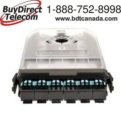 SYSTIMAX/Commscope 760109256, 360G2 Cartridge 12 LC LazrSPEED® Aqua iPatch Ready