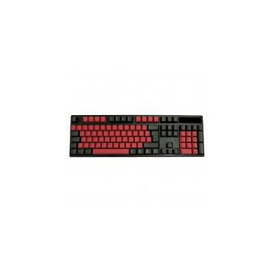 Tai Hao PBT Double Shot Keycaps Dark Blood ISOANSI Layout KEY0010