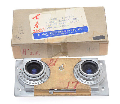 Revere, front pannel with lenses and shutters for Stereo Revere 33