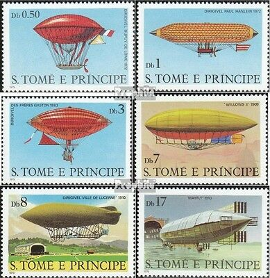 Sao Tome e Principe 626-631 (complete.issue.) unmounted mint / never hinged 1979