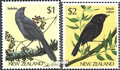 New Zealand 931-932 (complete.issue.) fine used / cancelled 1985 Birds