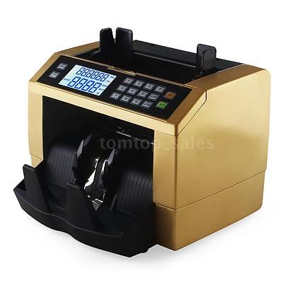Banknote Bill Money Counter Currency Counting Machine Counterfeit Detector J1O8