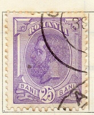 Romania 1893-96 Early Issue Fine Used 25b. 129101