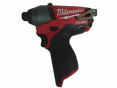 "New Milwaukee 2453-20 M12 FUEL 1/4"" Hex Impact Driver (BARE TOOL)"