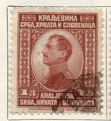 Yugoslavia 1923 Early Issue Fine Used 1d. 129570