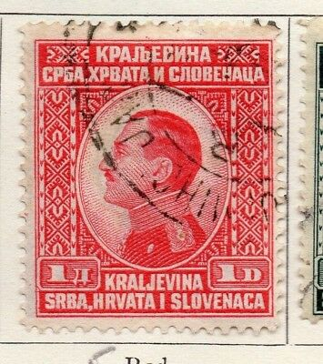 Yugoslavia 1924 Early Issue Fine Used 1d. 129579