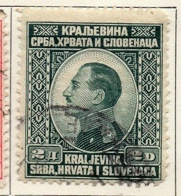 Yugoslavia 1924 Early Issue Fine Used 2d. 129580