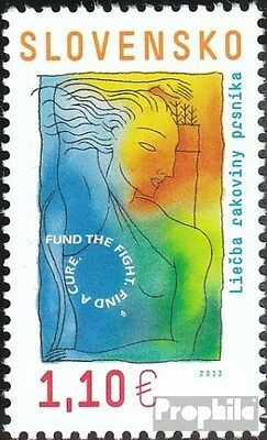 Slovakia 705 (complete.issue.) unmounted mint / never hinged 2013 Cancer