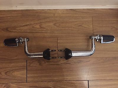 Harley Davidson Sportster Adjustable Highway Peg Support Kit '04 & Up