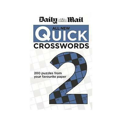 The Daily Mail: All New Quick Crosswords 2 by Daily Mail (Paperback, 2013)