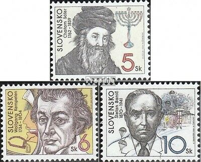 Slovakia 208-210 (complete.issue.) unmounted mint / never hinged 1994 Personalit
