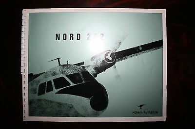 Official Brochure Nord Aviation Nord 262 General Description From 1967