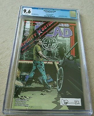 The Walking Dead #106 CGC 9.6 - 2013 - Image Comics - Adlard Exclusive