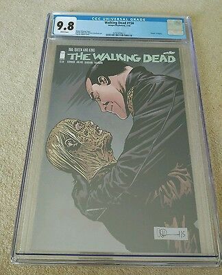 The Walking Dead #156 CGC 9.8 - 2016 - Image Comics - English - 1st printing