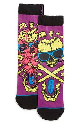 Stance 1634 Davey Jones Big Kid Socks Sz 2-5.5