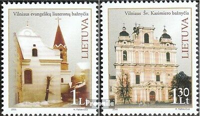Lithuania 881-882 (complete.issue.) unmounted mint / never hinged 2005 Churches