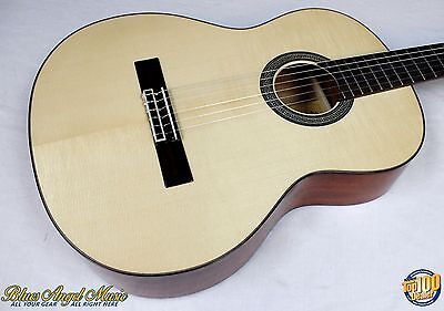Eastman CL10S Classical Guitar w/ Solid AAA Spruce / Mahogany! NEW!! #39150