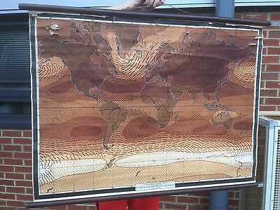 Nice Old School Wall Map. Open To Offers.