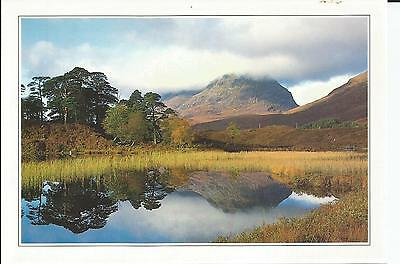 Large Photo Postcard From  Ross-Shire, Scotland, G.a. Dey, Liathach Loch Clair