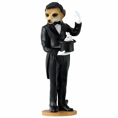 Magnificent Meerkats - Magician Figurine NEW in Gift Box - 26170