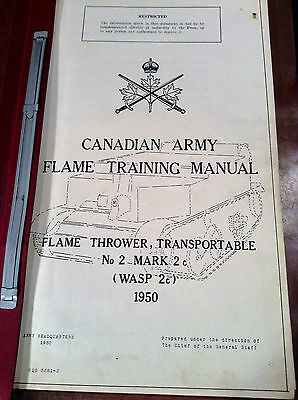 Canadian Army Flame Training Manual No 2 Mk21950