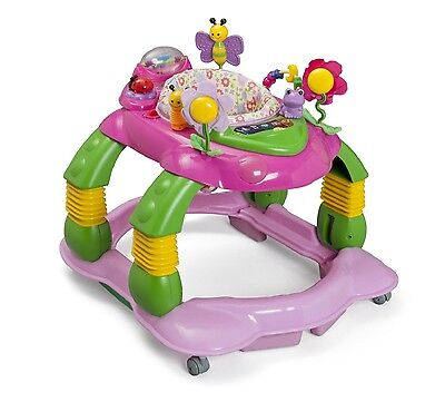 LIL PLAYSTATION ACTIVITY CENTER 3 in 1 Rocker Toddler Girl Play Toy Snack Tray
