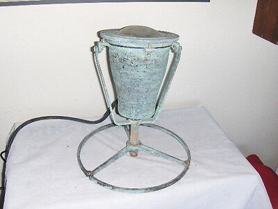 Vintage Large Underwater Fountain Brass Light Marine Nautical Ocean Lamp & Base