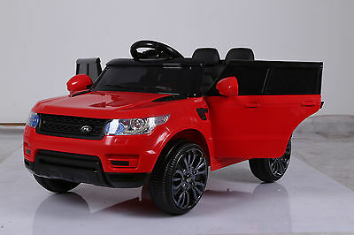 2017 Model Range Rover Sport Hse Style 12V Electric Kids Ride On Jeep Car - Red